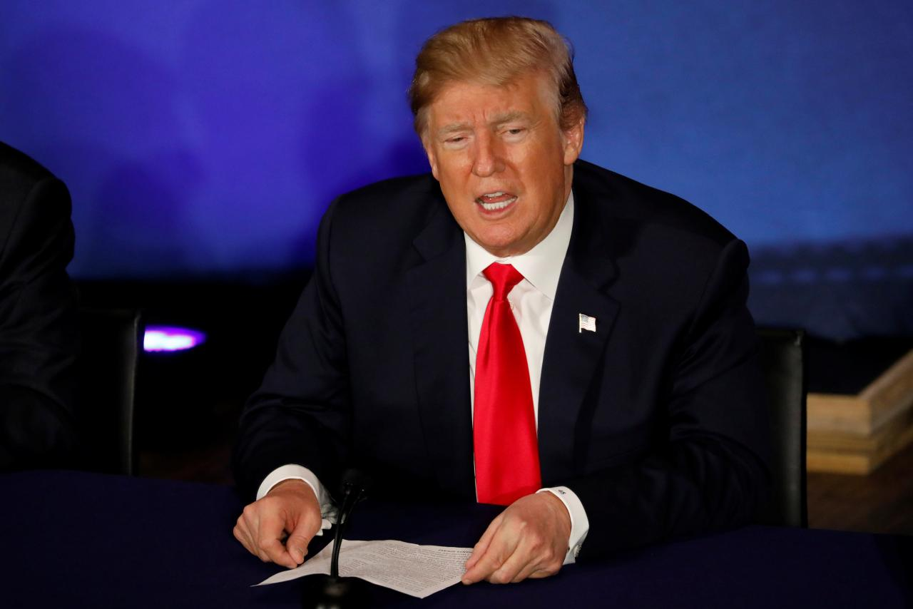 Trump's decision to scrap sanctions relief would have global ramifications PHOTO: REUTERS