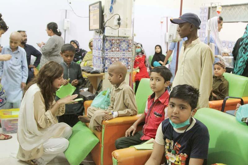 four children hospitalised