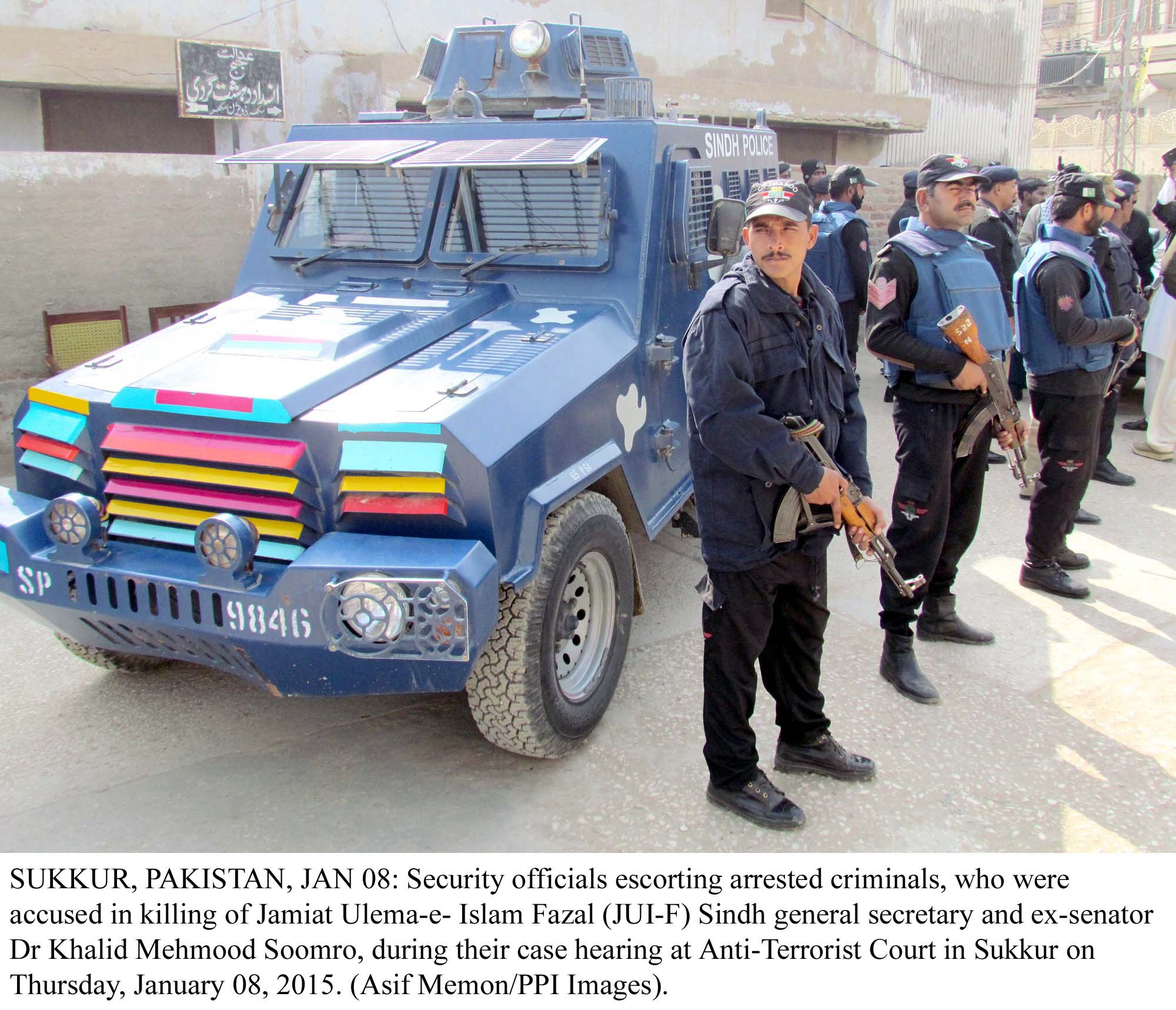 Sindh police. PHOTO: PPI