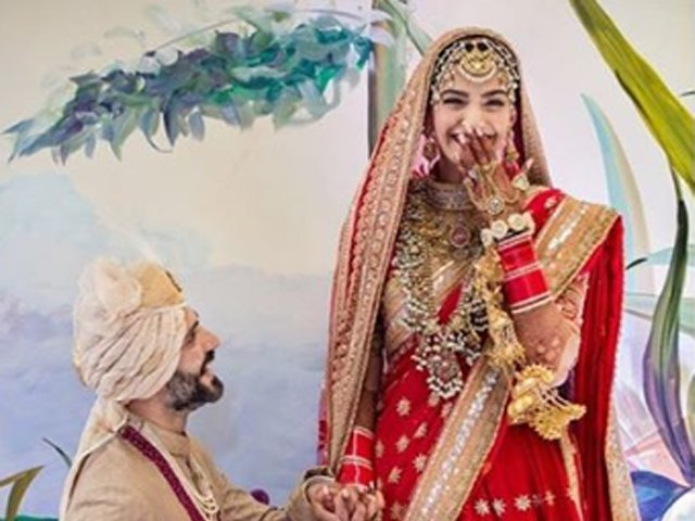 sonam kapoor s husband adds an s to his name