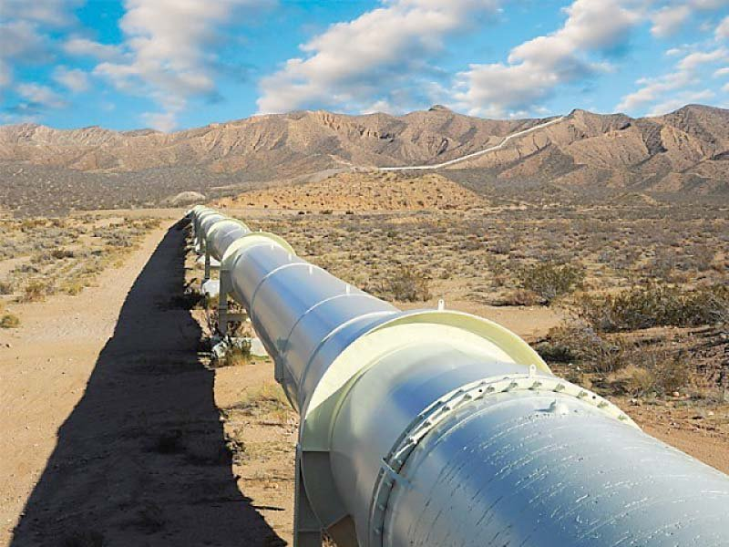 Hurdles in the way of building the pipeline like high altitude, freezing temperatures and rough terrain can be overcome with the help of advance technology. PHOTO: FILE