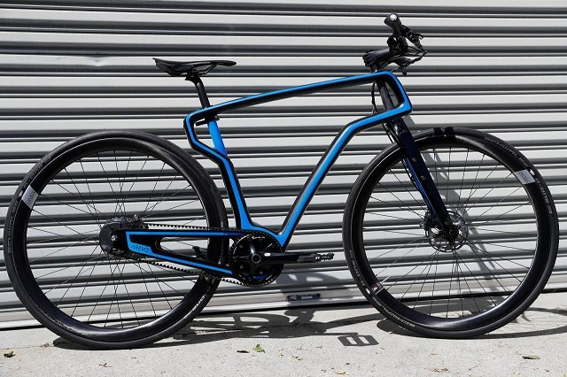 silicon valley startup peddles 3d printed bike