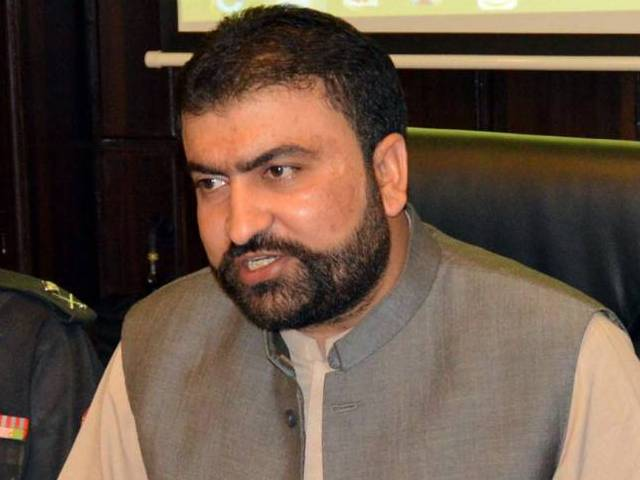 balochistan minister for home and tribal affairs sarfraz bugti photo inp