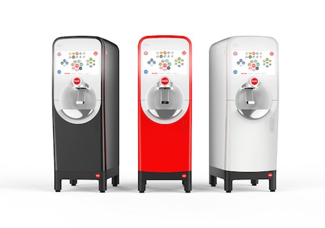 coca cola s new machine lets you mix drinks using bluetooth