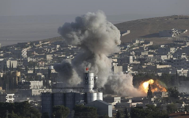 No causalties were reported in the latest US led coalition strike  PHOTO: REUTERS