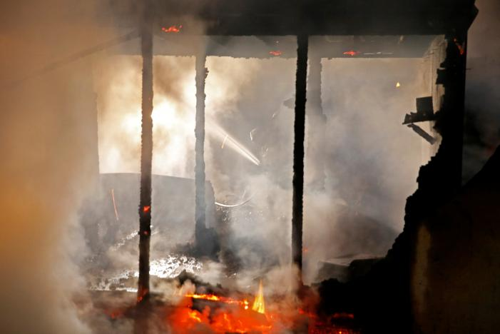 seven of a family dead as mother sets house ablaze