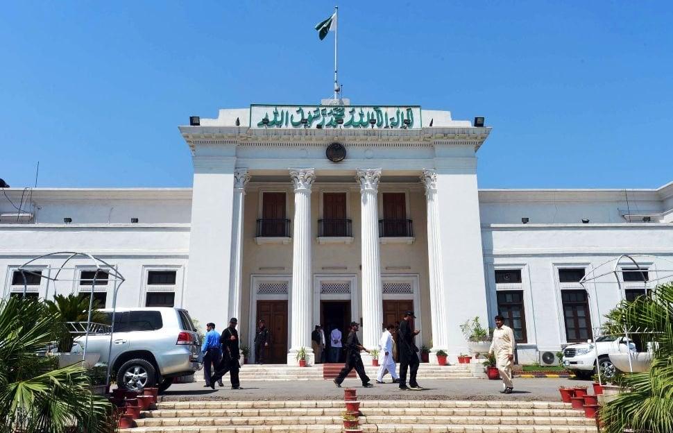 khyber pakhtunkhwa assembly photo afp