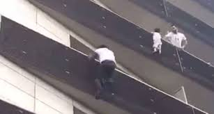 malian spiderman rescues child dangling from paris balcony