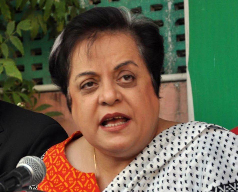 PTI leader Shireen Mazari. PHOTO: EXPRESS
