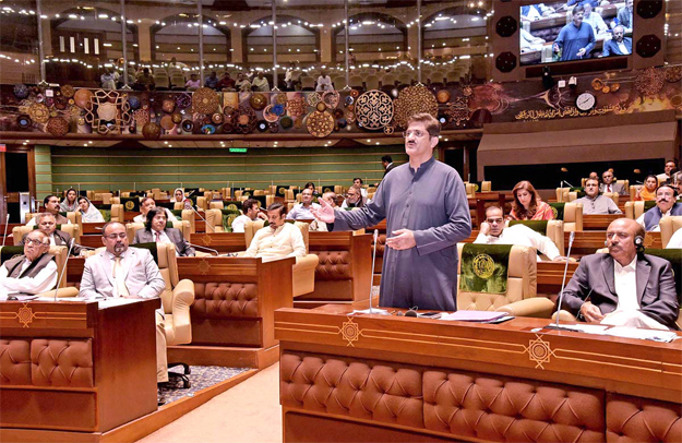 mpas forgive each other at farewell session of sindh assembly