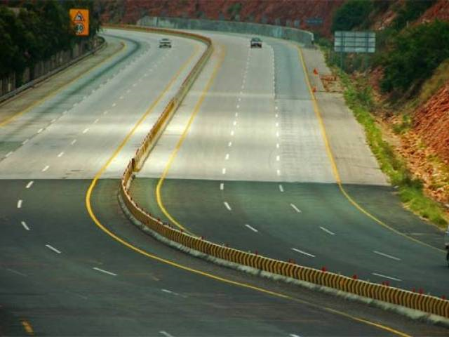 The court directed the National Highway Authority (NHA) director general to appear before the court and explain why they have not put up safety walls along the motorway  PHOTO: EXPRESS