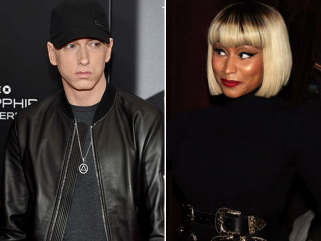 eminem and nicki minaj are apparently dating and we re freaking out