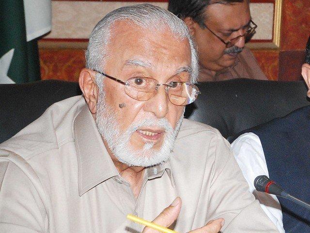 Former governor Punjab Sardar Zulfiqar Khosa. PHOTO: EXPRESS FILE