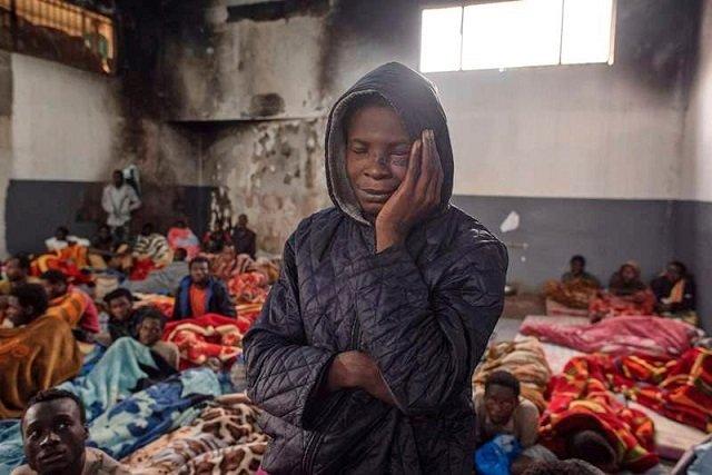 traffickers kill 12 migrants trying to flee libya camp un