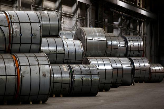EU, Canada and Mexico also draw up retaliatory measures to Washington's stinging steel and aluminium duties. PHOTO: REUTERS