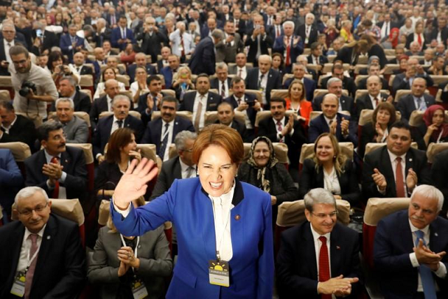 the formation of the new party was seen as a tectonic shift in turkish politics photo reuters