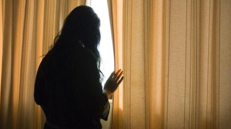 uproar on social media teenager stripped in public