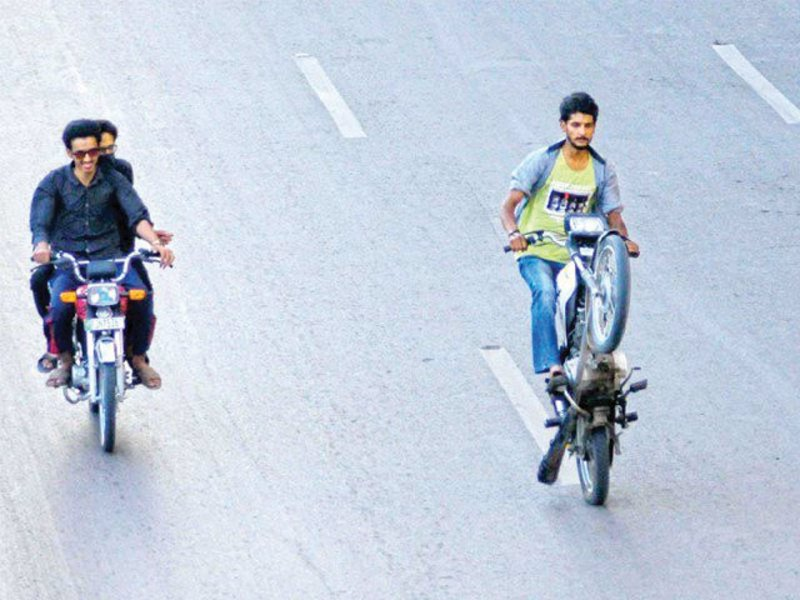 three held for one wheeling