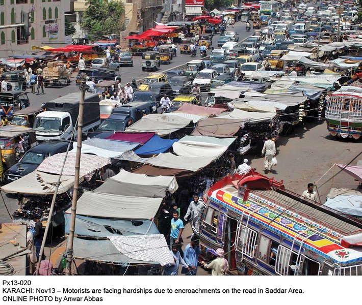 roadside vendors push carts choking markets during ramazan