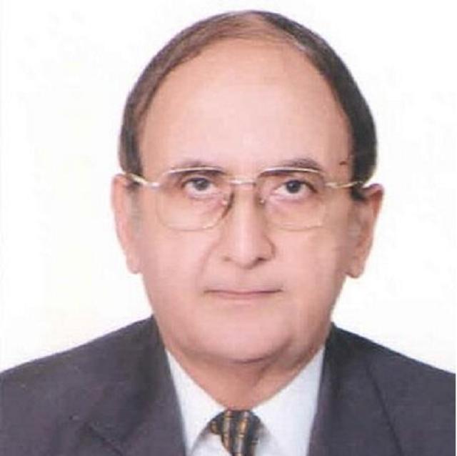 Professor Hassan Askari PHOTO: TWITTER