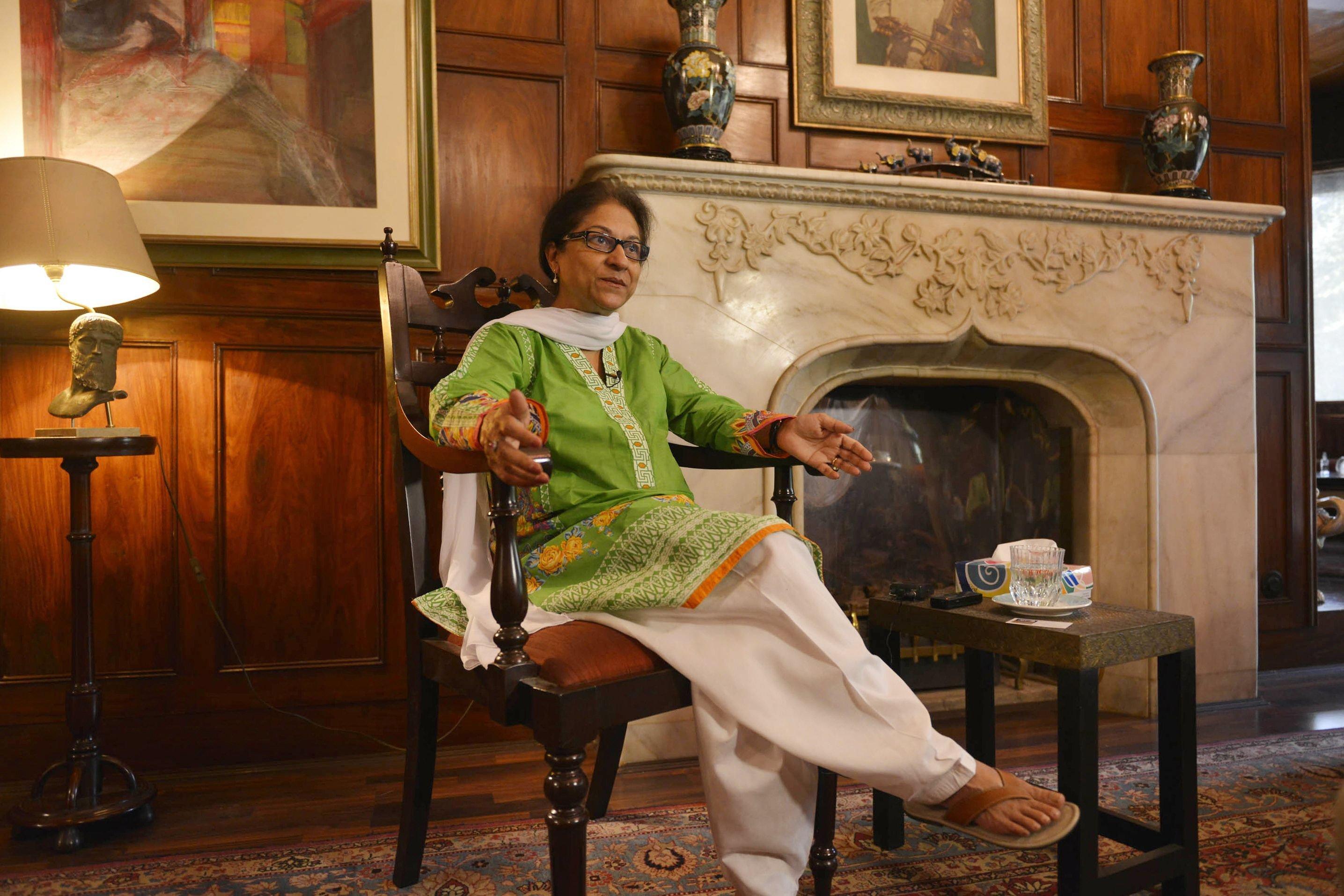 Asma Jahangir. PHOTO: AFP