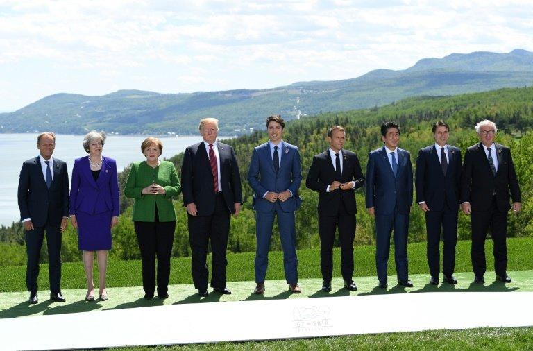g7 divides to g6 plus trump over trade war threat