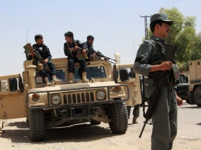 19 afghan police killed in taliban attack on base
