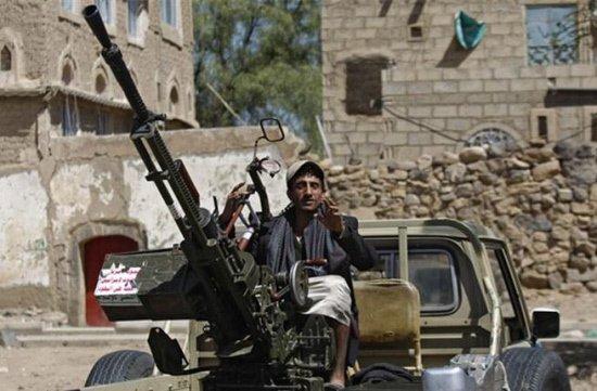 A Houthi rebel fighter in Yemen. PHOTO:AFP