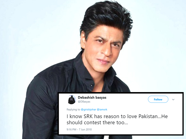 twitterati criticise srk as his cousin noor jehan contests elections from peshawar