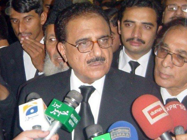 justice dost muhammad photo iqbal haider