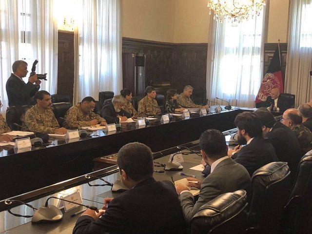 Discussions pertaining to the fight against terrorism also took place. PHOTO: ISPR