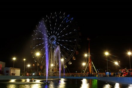 world class amusement park opens its doors in karachi on eid