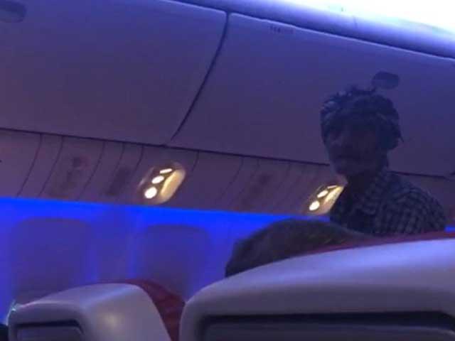 beggar manages to board iran bound flight under mysterious circumstances