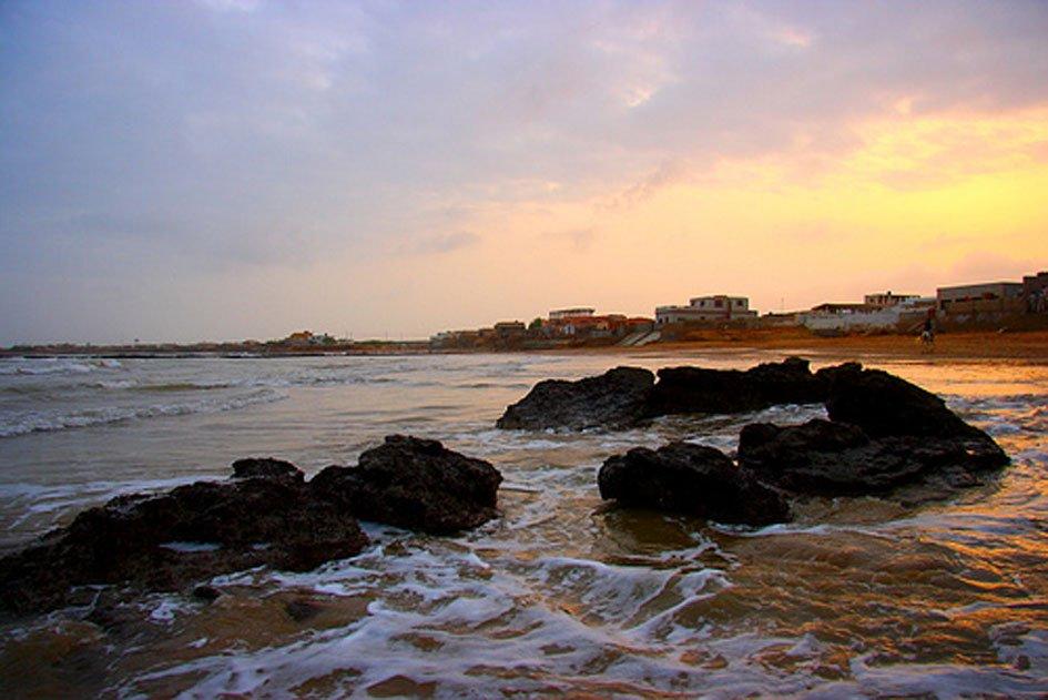 Hawkes Bay Beach, Karachi.PHOTO: FILE