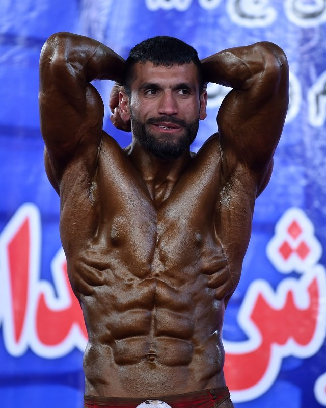 the pursuit of muscles in war torn kabul