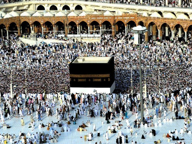 The official further said that the ministry is trying to make it easier for intending pilgrims to get their biometric verification fast and easily. PHOTO: AFP