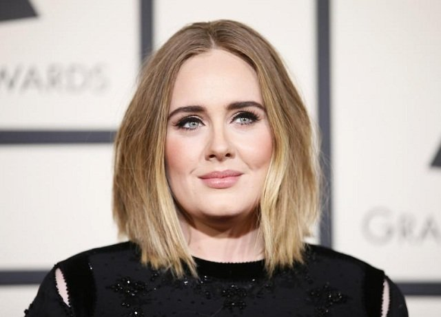 singer adele arrives at the 58th grammy awards in los angeles photo reuters