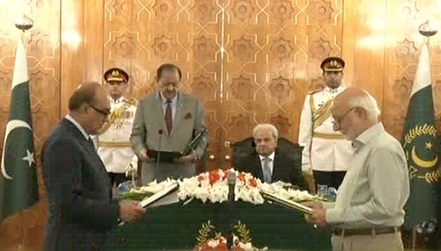 two more ministers inducted in federal cabinet