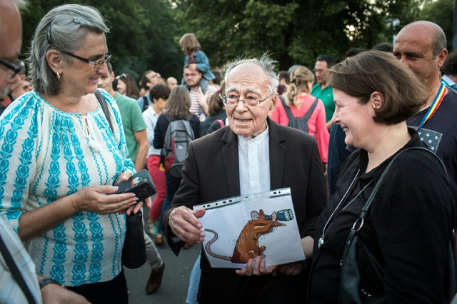 the writer inspiring romania s protest movement at 101