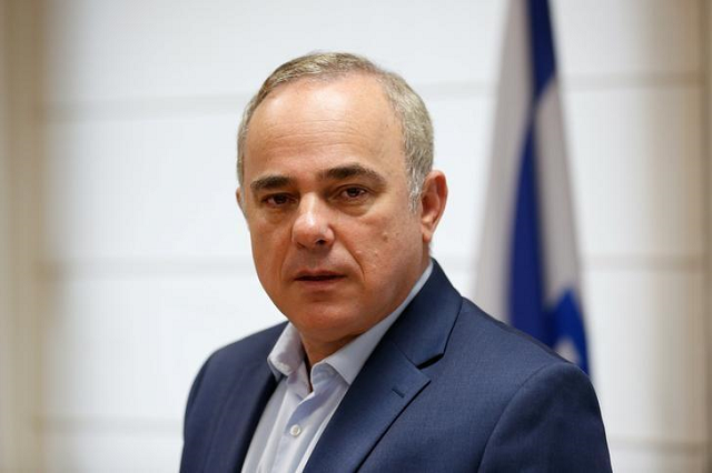 Israeli energy minister, Yuval Steinitz. PHOTO: REUTERS.