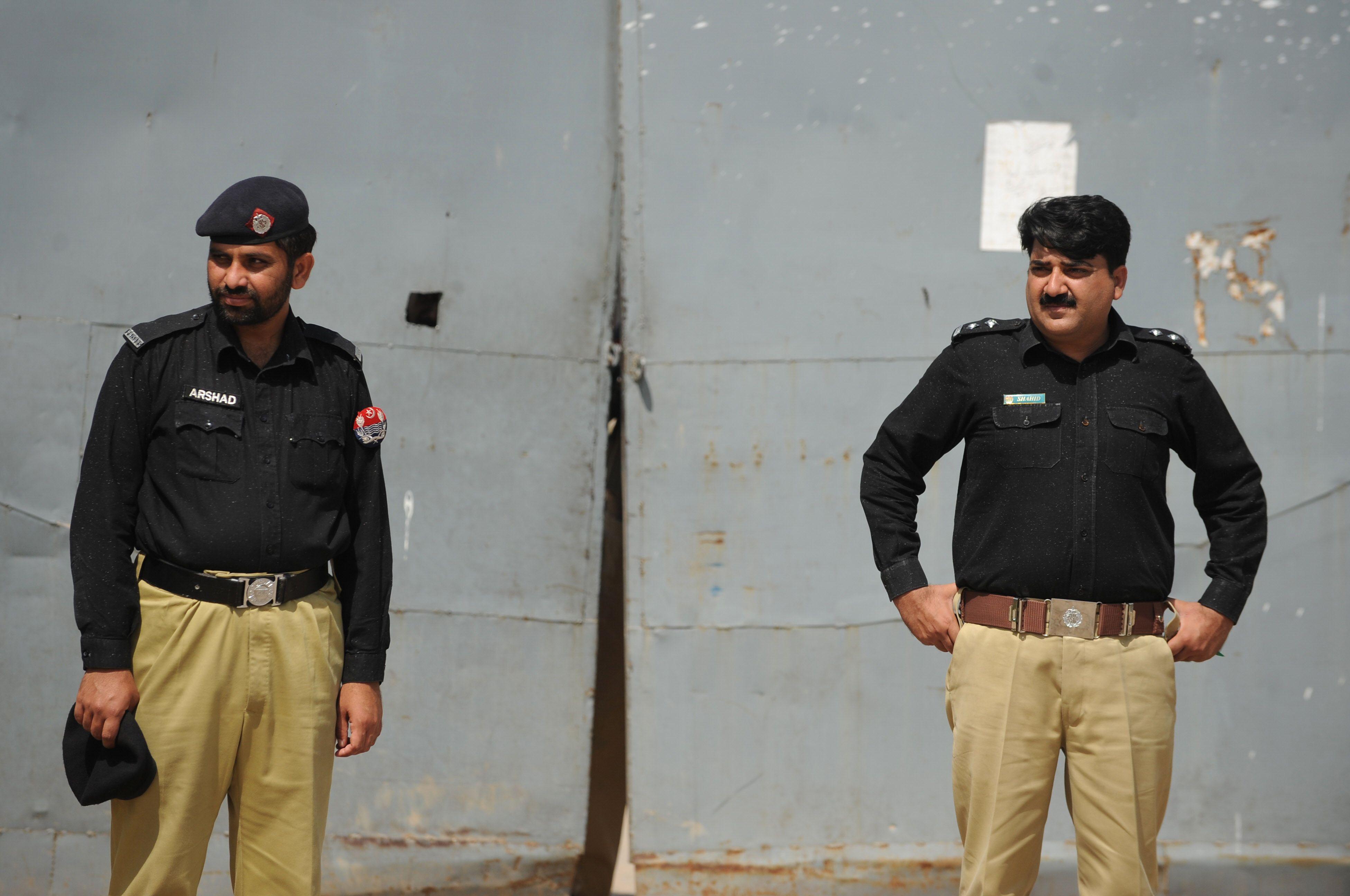 Rawalpindi Police. PHOTO: AFP