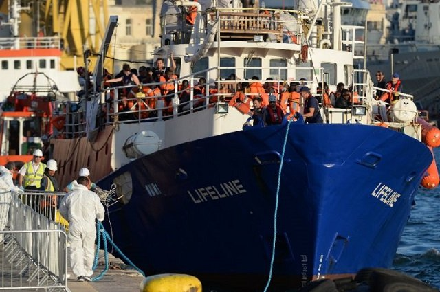 spain ngo ship saves 59 migrants italy refuses access