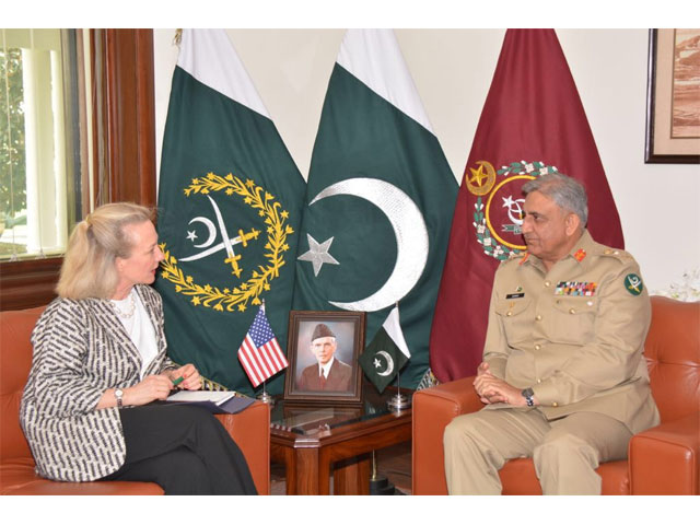Ambassador Alice G Wells commends the sacrifices and resilience of the people and armed forces of Pakistan. PHOTO: ISPR