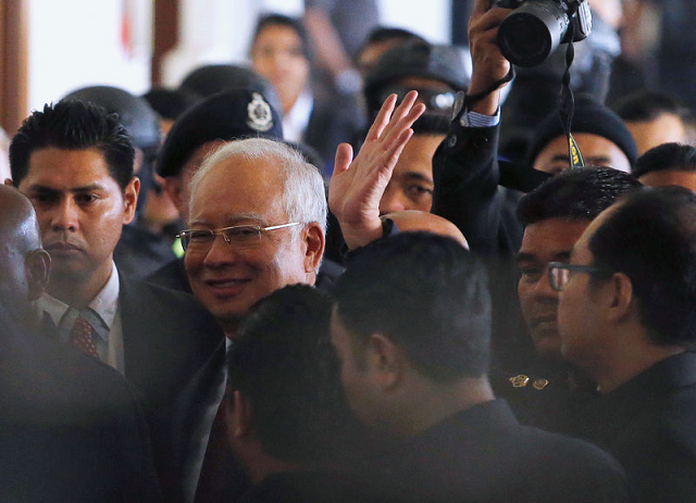 former malaysian pm pleads not guilty to charges in 1mdb graft probe