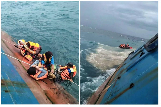 ferry sinking result in at least 29 dead says indonesia