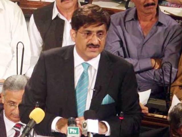 murad ali shah photo ppi