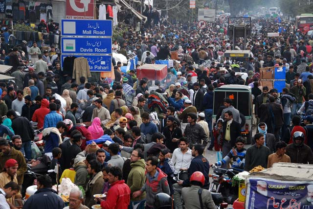 Overpopulation straining Pakistan's resources: NHS minister. PHOTO: EXPRESS.