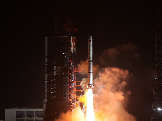 china launches two satellites for pakistan