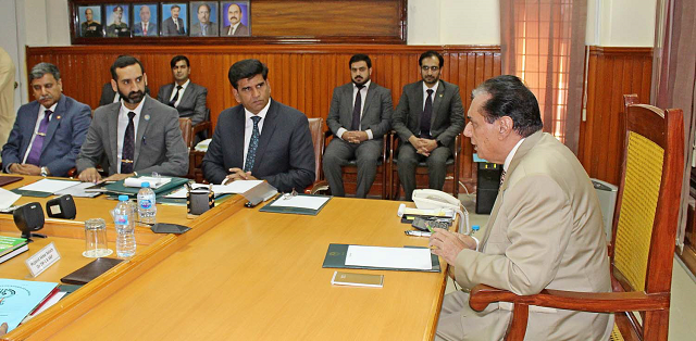 doing best to prevent corruption in national development projects nab chairman