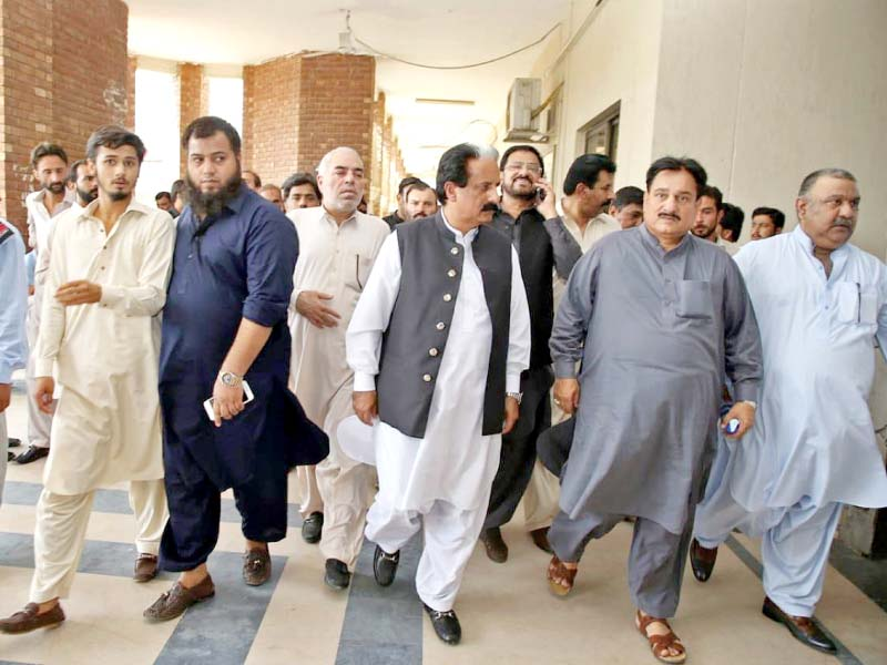illegal rally case pml n men get bail